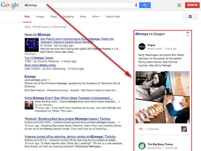 google-search-hashtags