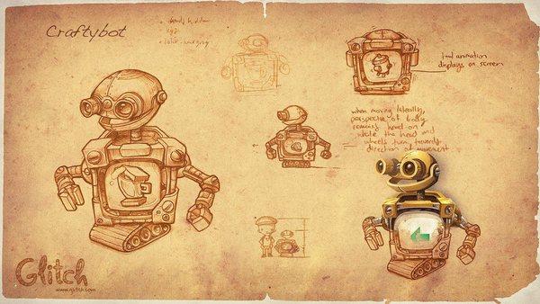 glitch-craftybot