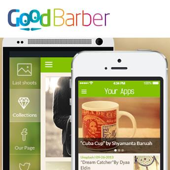¿Necesitas crear una aplicación en tiempo récord? Goodbarber sabe cómo hacerlo