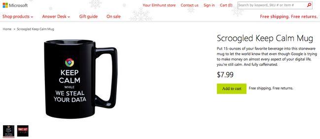 scroogled-keep-calm-mug