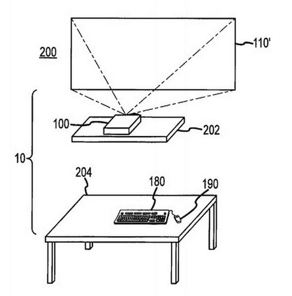 apple-patent-ordenador-proyector