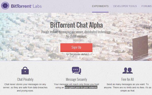 bittorrent-chat-alpha