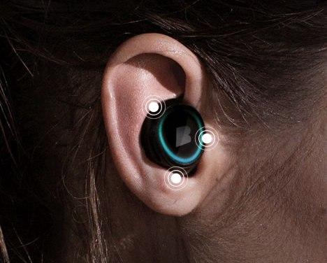 Dash: Auricular inalámbrico inteligente con 1000 canciones, sensores corporales ¡ y mucho más!