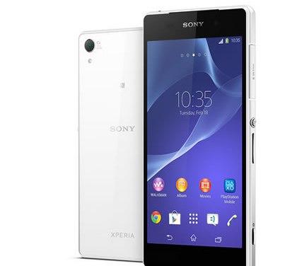 Sony Xperia Z2 , teléfono inteligente  a prueba de agua que graba en 4K #MWC2014