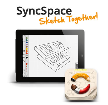 SyncSpace: Un pizarrón donde dibujar e interactuar con muchos colaboradores