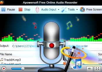 Apowersoft para grabar Audio Online gratis, fácil y compartirlo donde quieras