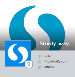 Storify habilitó diferentes plantillas para compartir tus historias en las Redes Sociales