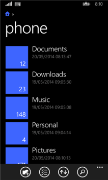 files-windows-phone-8-1