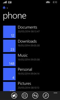 files-windows-phone-8-1
