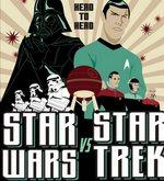 Star Trek en un espectacular mashup con Star Wars