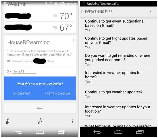 google-now-calendar-gmail-events