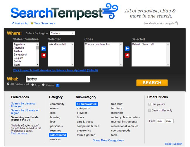 search-tempest