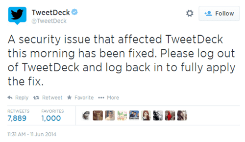 twitter-tweetdeck-vulnerability-not-fixed