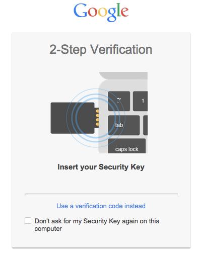 Google - Llaves de seguridad USB