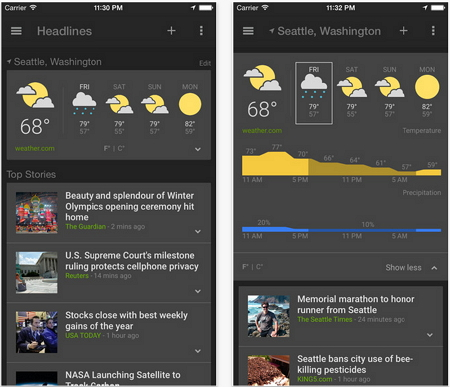 google-news-and-weather
