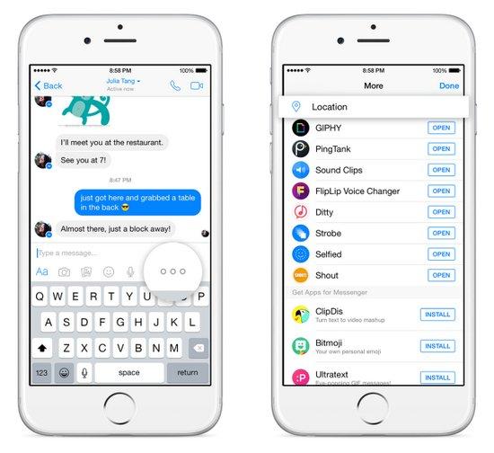 facebook-messenger-enviar-ubicación