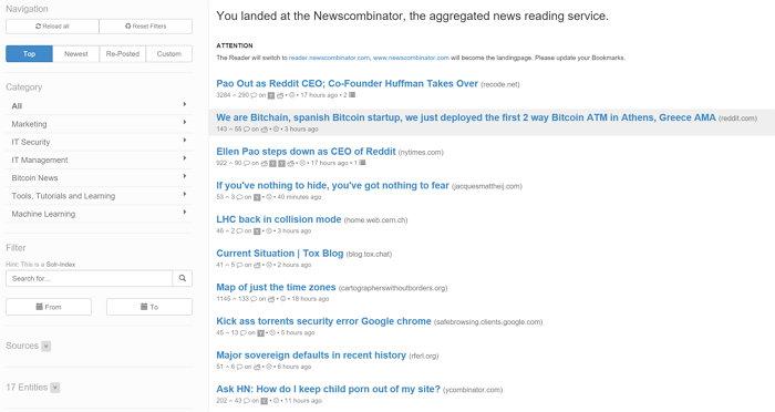 newscombinator