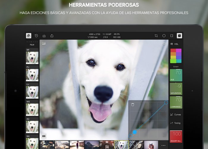 polarr-editor-imagenes-android