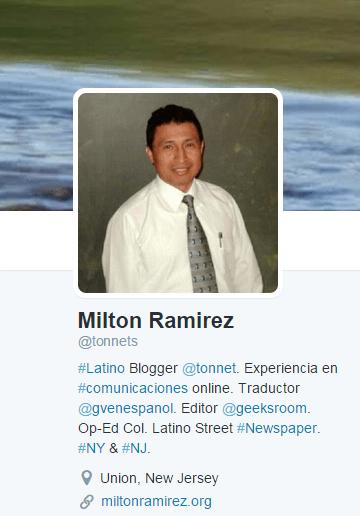 @tonnets aka Milton Ramirez