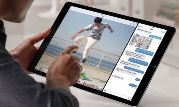 Apple agrega 256GB al iPad Pro de 12.9″