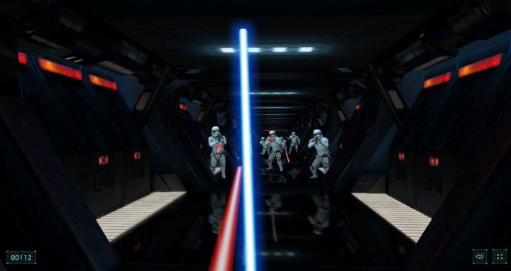 lightsaver-escape-chrome-experiment-game