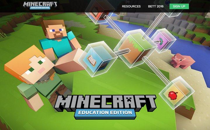 Microsoft anuncia edición de Minecraft para educación para utilizar en escuelas
