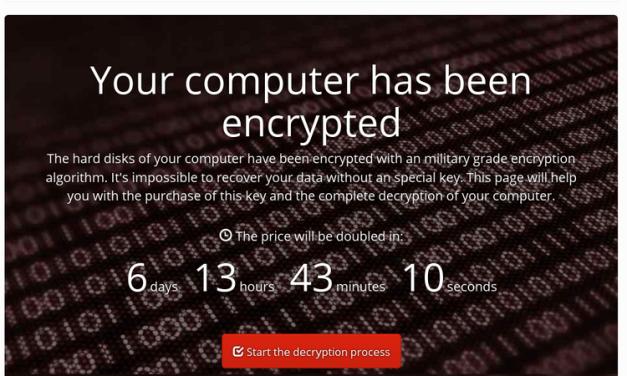Si no puedes entrar en tu habitación de hotel, quizás es porque te han hackeado [Ransomware]