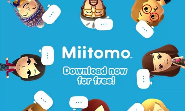 Nintendo anuncia 10 millones de usuarios únicos en Miitomo y comenta sobre sus próximas apps móviles