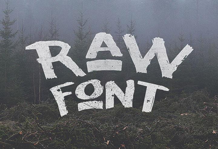 raw-font