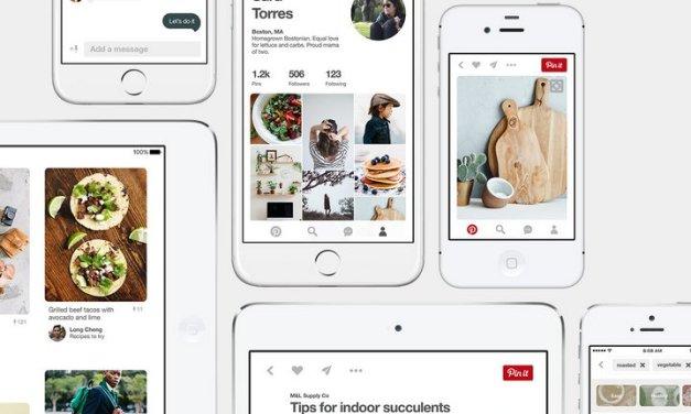 Pinterest para iOS ahora mucho más rápida y presenta un nuevo diseño más moderno
