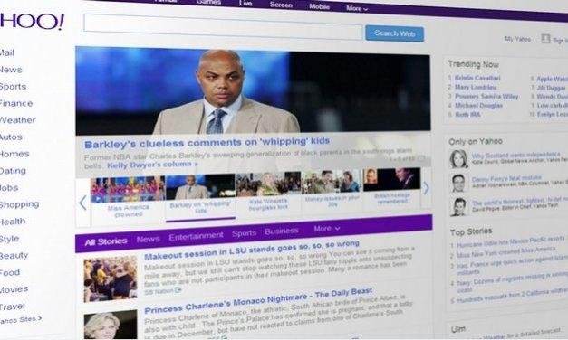 Parece que Google está interesado en comprar los servicios web de Yahoo