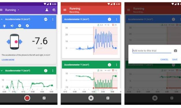 Google Science Journal, herramienta para hacer experimentos con tu smartphone Android