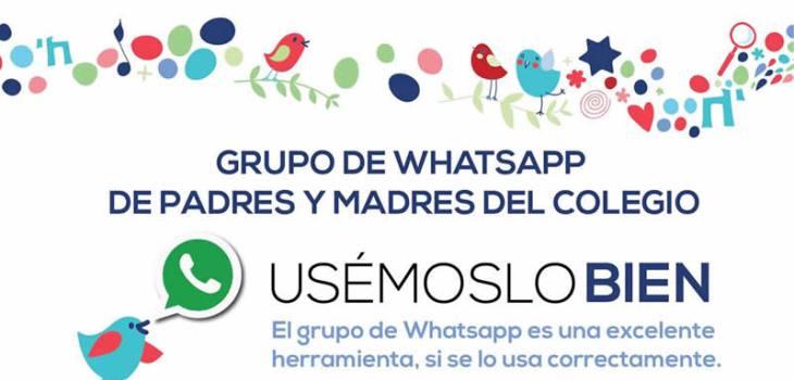 ¿Reglas para el grupo de Whatsapp de la escuela de tu hijo? 8