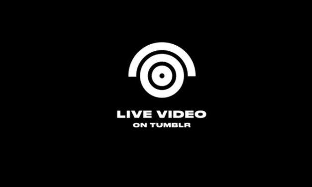 Ahora es Tumblr quien se suma a los servicios que ofrecen transmisiones de vídeo en vivo