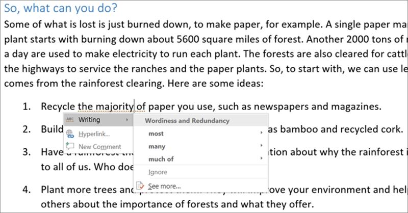 Microsoft Word Editor