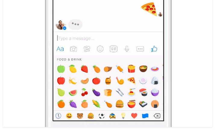 Facebook Messenger ahora permite redimensionar todos los emoji