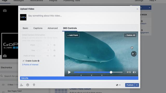 Facebook Vídeo 360 Guía