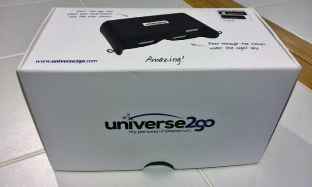 Review: Universe2Go – gafas de realidad aumentada para explorar y descubrir cuerpos celestes