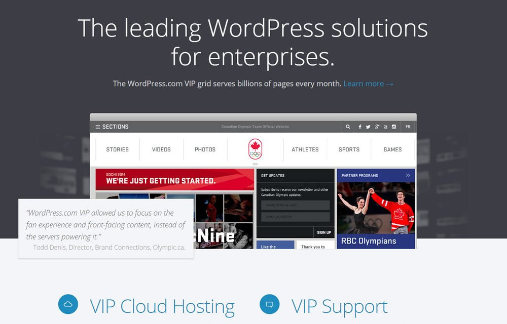 WordPress VIP: Optimizado para Empresas Hosting/Seguridad/Tráfico