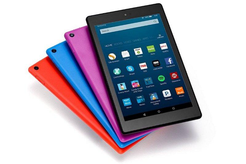 Amazon anunció la tableta Amazon Fire HD 8 con más capacidad y batería de larga duración