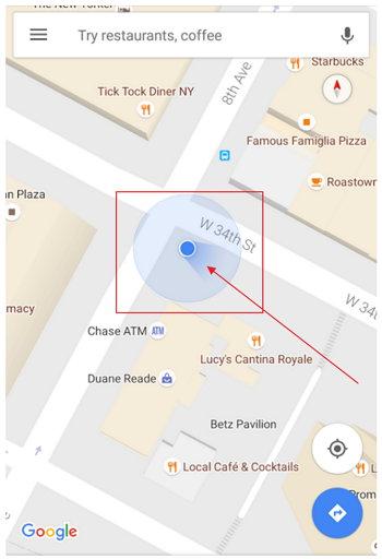 Google Maps Orientación