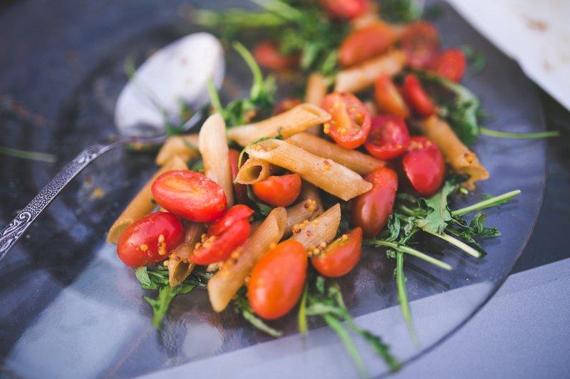 Kaboompics - Pasta Tomato Rucola - Recetas de Cocina