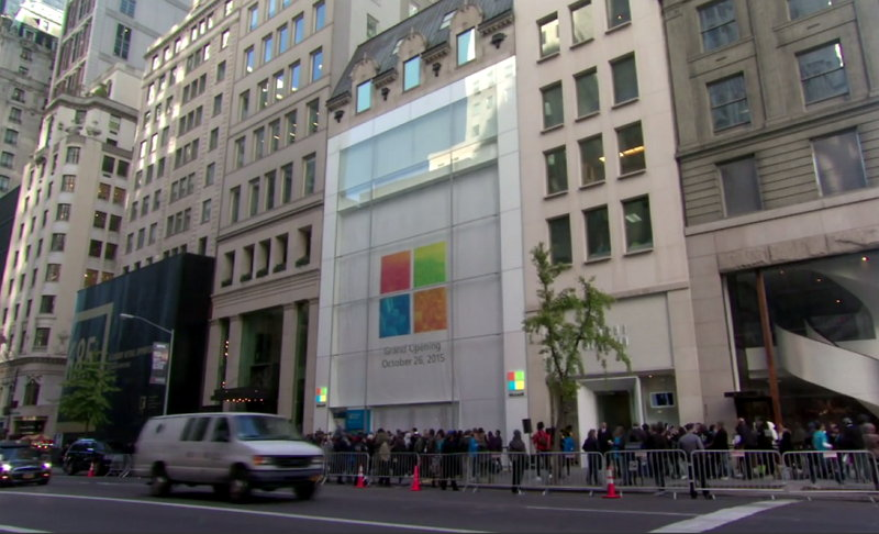 Microsoft Flagship Store 5th Avenue New York