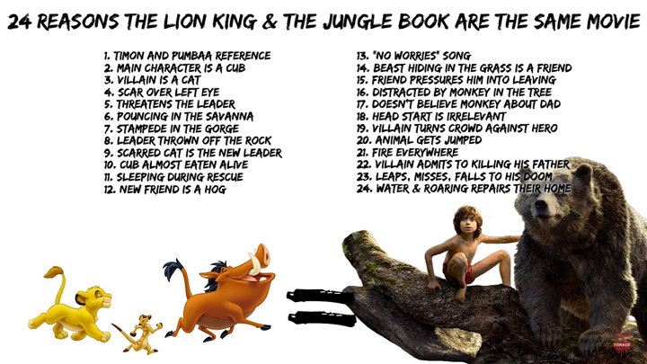Películas - The Lion King - The Jungle Book