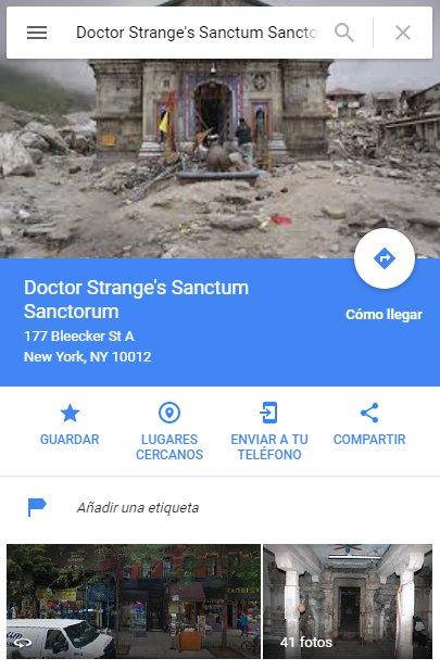 Doctor Extraño Sanctum Sanctorum