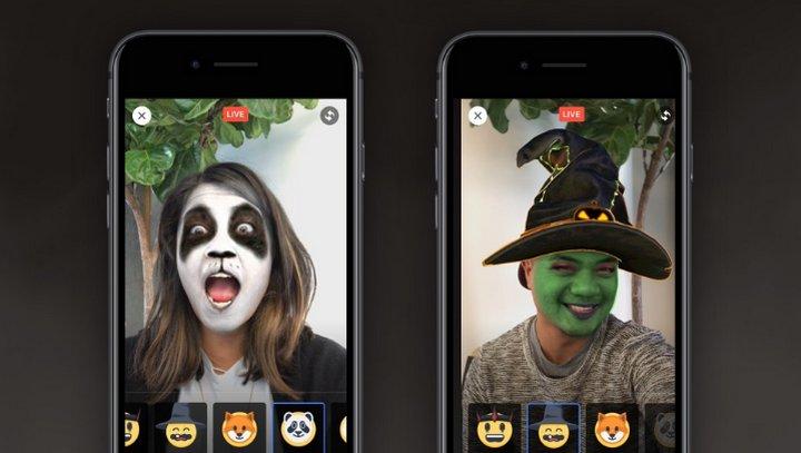 Facebook Live - Máscaras de Halloween
