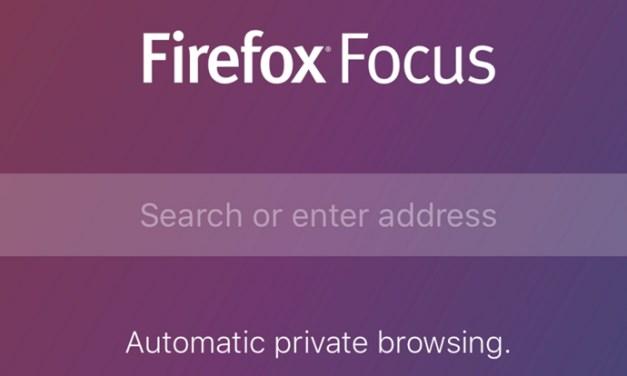 Firefox Focus es el nuevo navegador privado de Mozilla para iOS