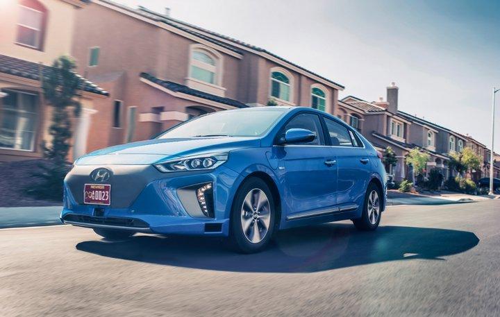 En el Salón del Automóvil de Los Ángeles presentan un concepto de Hyundai Ioniq autónomo