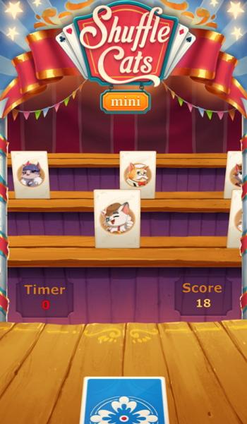 Instant Games - Shuffle Cats Mini