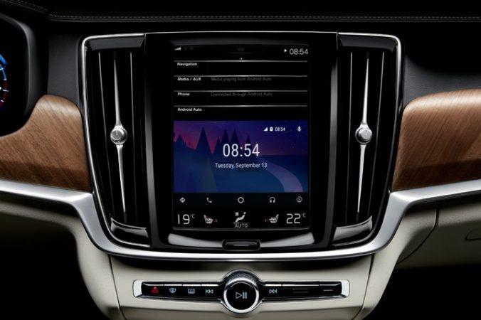 Volvo Serie 90 - Android Auto